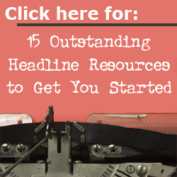 https://copywritertoday.net/15-headline-resources/