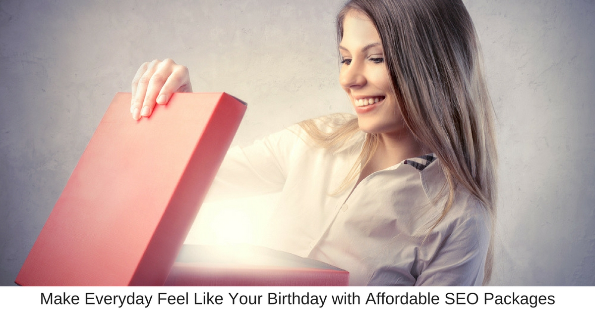 Make Everyday Feel Like Your Birthday with Affordable SEO Packages - Business Marketing Engine
